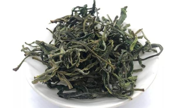 原料粗老的普通绿茶